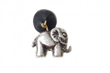 Elefant accessory - sølvlook
